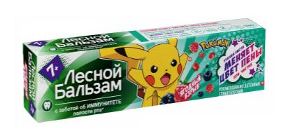 Детская зубная паста  Лесной бальзам  с 7лет 50мл.