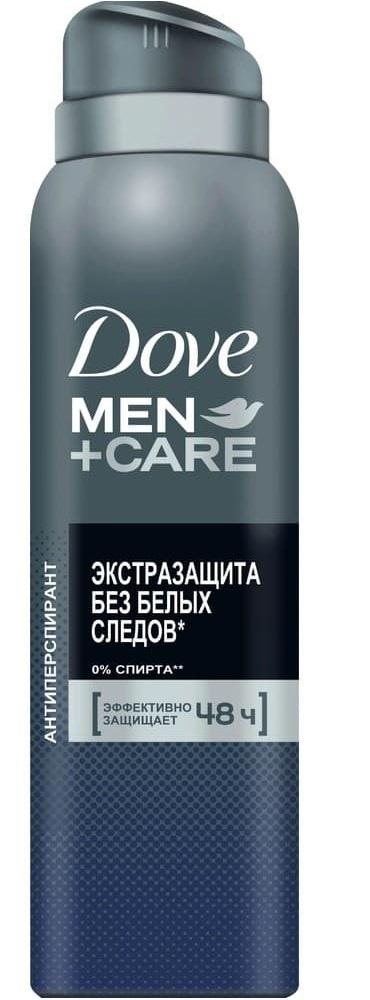Дезодорант-спрей  Dove Men+Care  Экстразащита без белых следов 150мл.