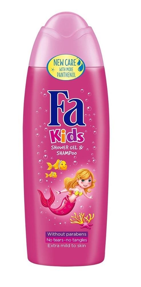 Гель для душа  Fa Kids  Русалочка для девочек 250мл.