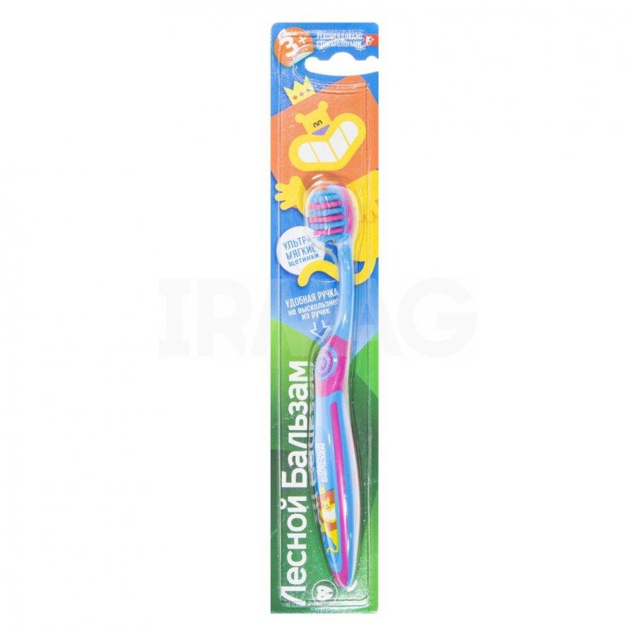 Зубная щетка  Лесной бальзам  для детей от 3 лет