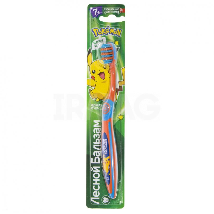 Зубная щетка  Лесной бальзам  для детей от 7 лет