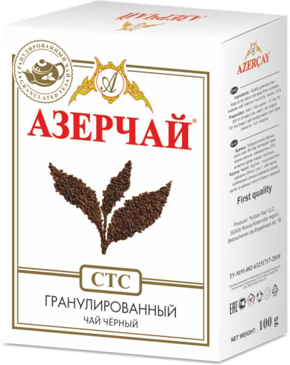 Чай черный гранулированный  Азерчай  СТС  100гр.