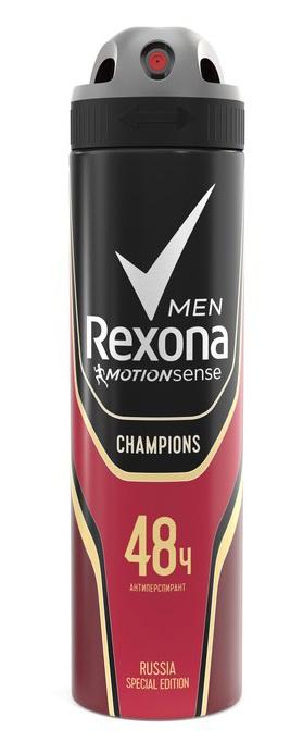 Дезодорант  Рексона  мужской CHAMPIONS 150мл.