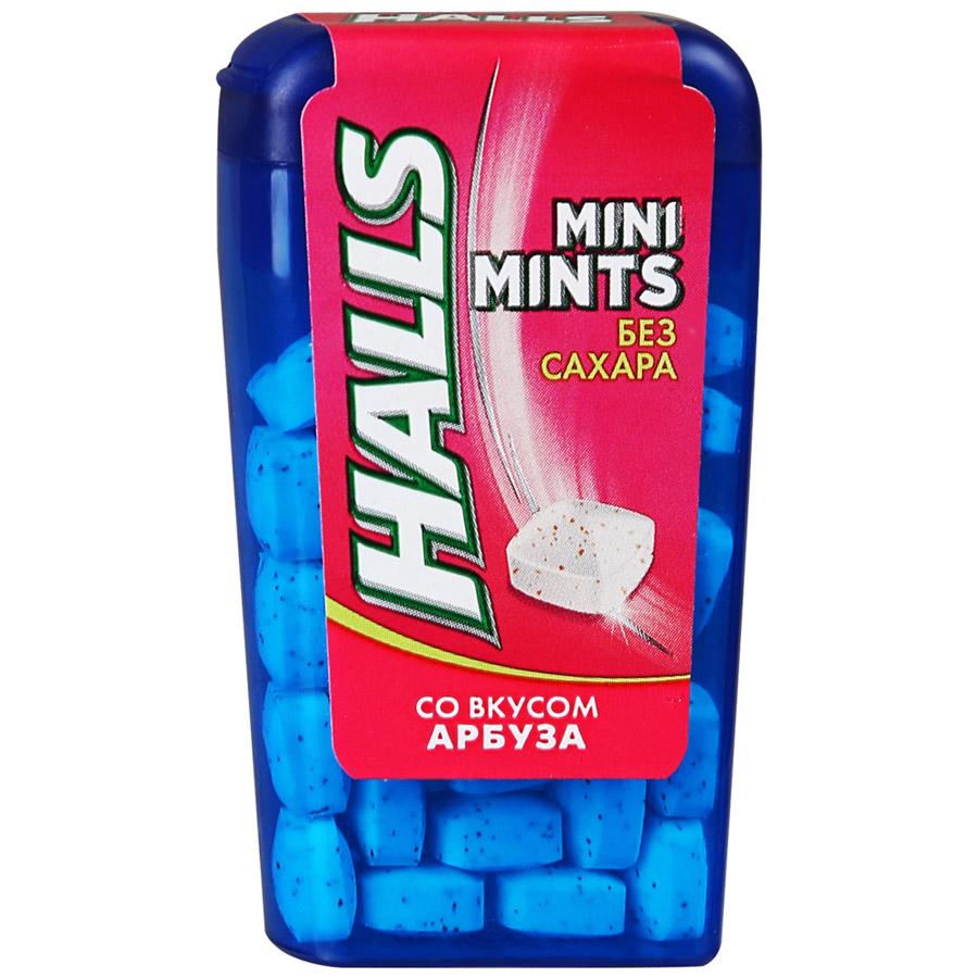 Конфеты без сахара  Холлс  Mini Mints арбуз 12.5гр.