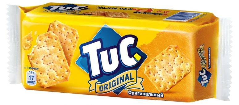 Крекер  TUC  с солью 100гр.