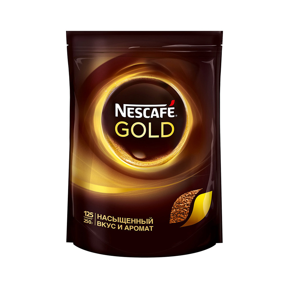 Кофе растворимый  Nescafe Gold  250гр.