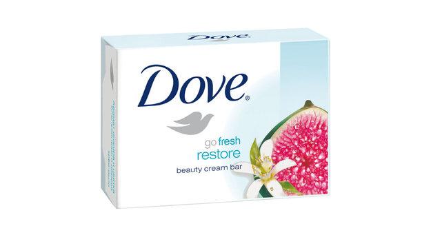 Крем-мыло  Dove  инжир и лепестки апельсина 100гр.