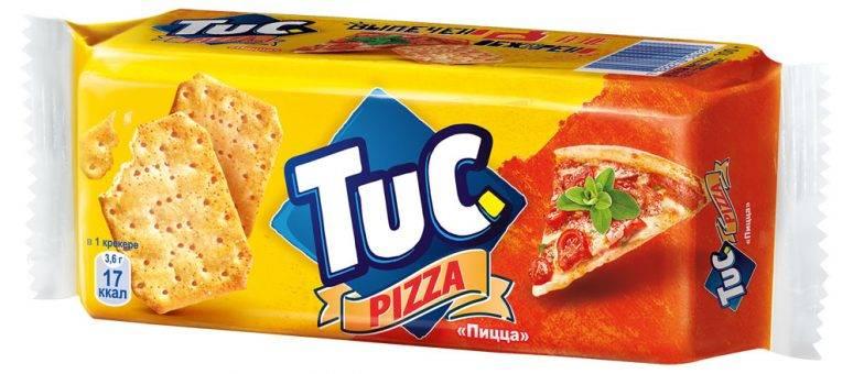 Крекер  Tuc  со вкусом пиццы 100гр.
