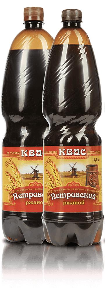 Квас  Петровский  2л.