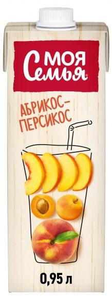 Нектар  Моя семья  яблоко/персик/абрикос 0.95л.