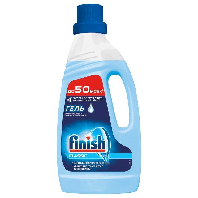 Гель средство  Finish  Classic для мытья посуды (для посудомоечных машин) 1л.