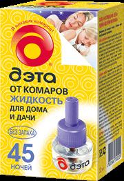 INSECTO  Дэта  флакон жидкости 45 ночей 30мл.