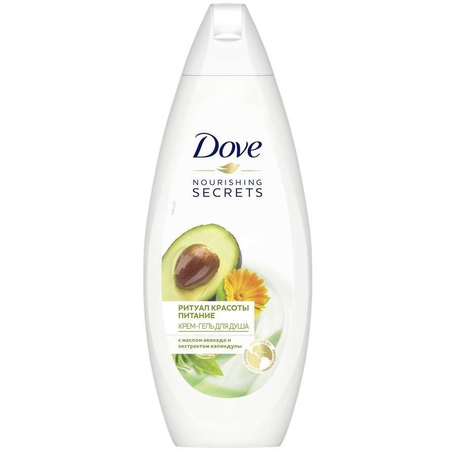 Dove  крем-гель для душа ритуал красоты