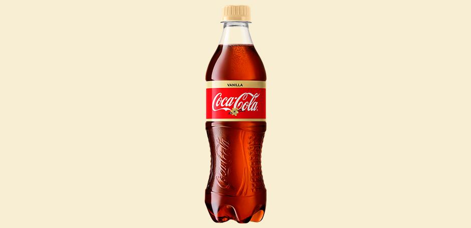 Газированный напиток  Кока-кола  Ваниль 0.5л.
