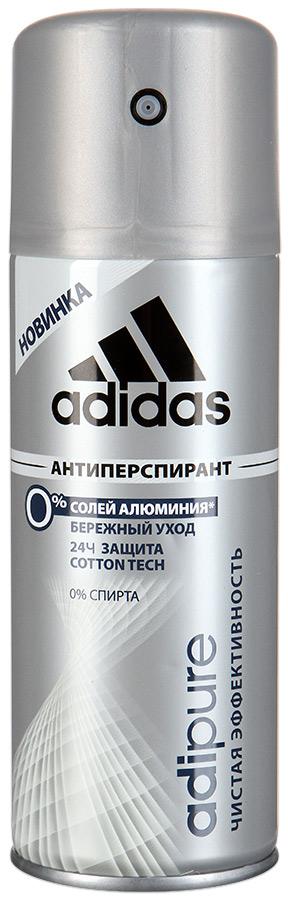 Дезодорант аэрозоль для мужчин  Adidas  Adipure 48ч 150мл.