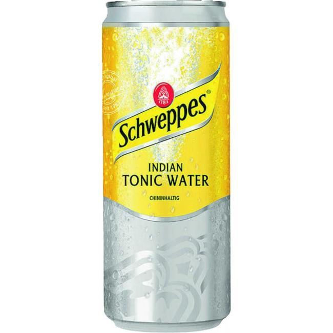 Газированный напиток  Швепс  Тоник 0.33л ж/б
