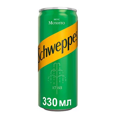 Газированный напиток  Швепс  мохито 0.33л ж/б