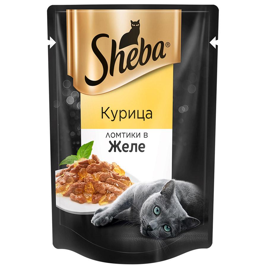 Пауч  Шеба  для взрослой кошки