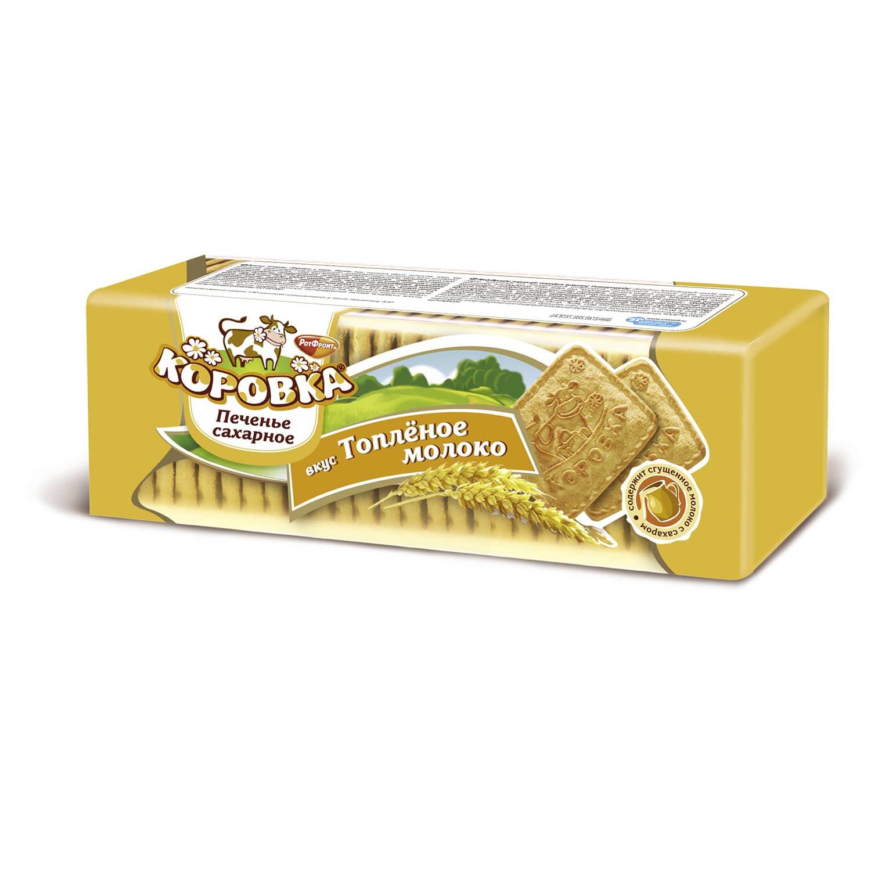 Печенье  Коровка  топленое молоко 375гр.