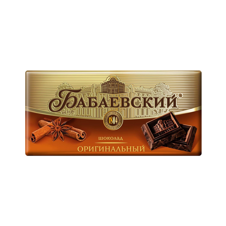 Шоколад  Бабаевский  оригинальный 100гр.