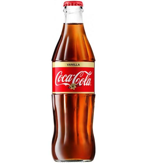 Газированный напиток  Coca-Cola  Vanilla 0.33л стекло.