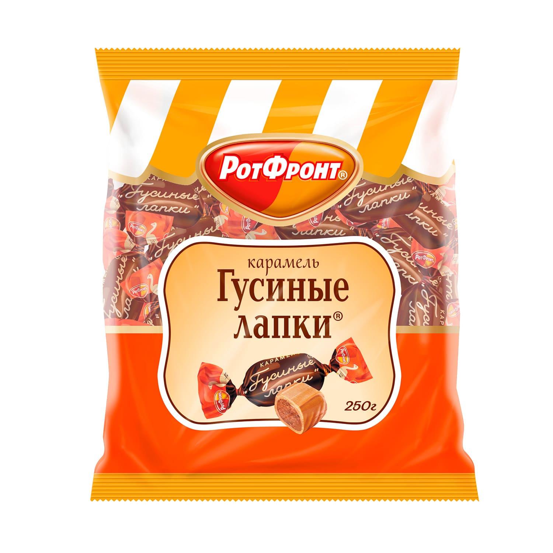 КАРАМЕЛЬ ГУСИНЫЕ ЛАПКИ  250Г*10