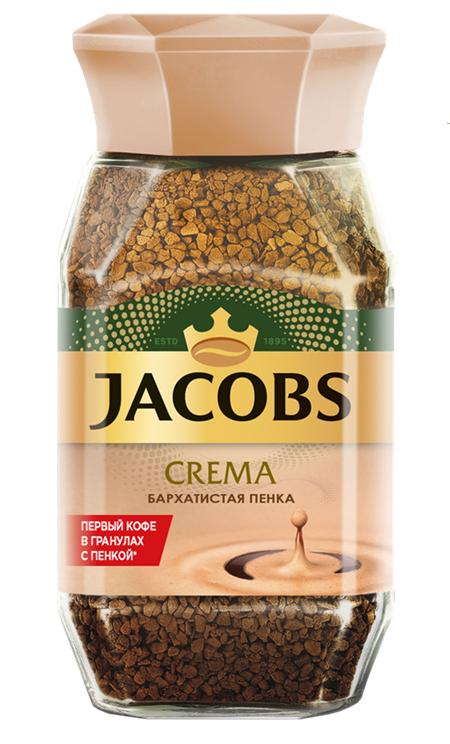 Кофе  Якобс  Монарх Crema растворимый