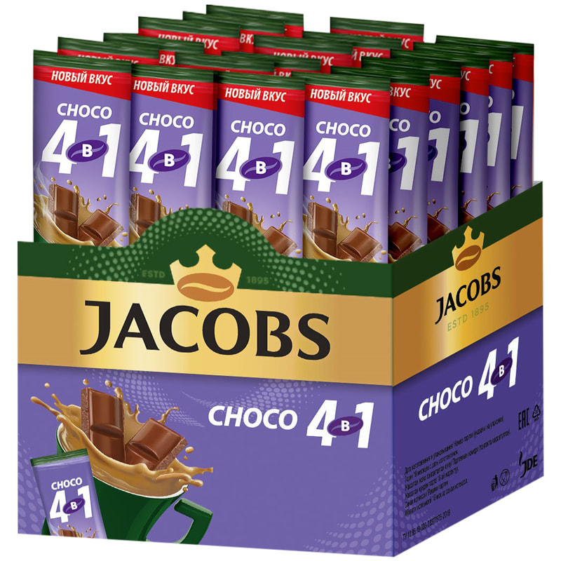 Кофе  Якобс Монарх  шоколад 4в1