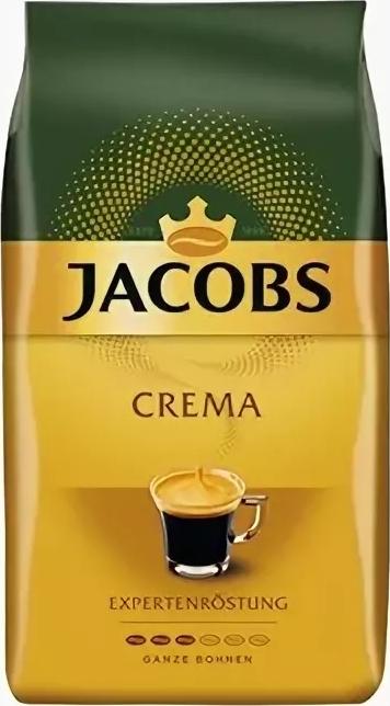 Кофе в зернах  Якобс  Crema 230гр.