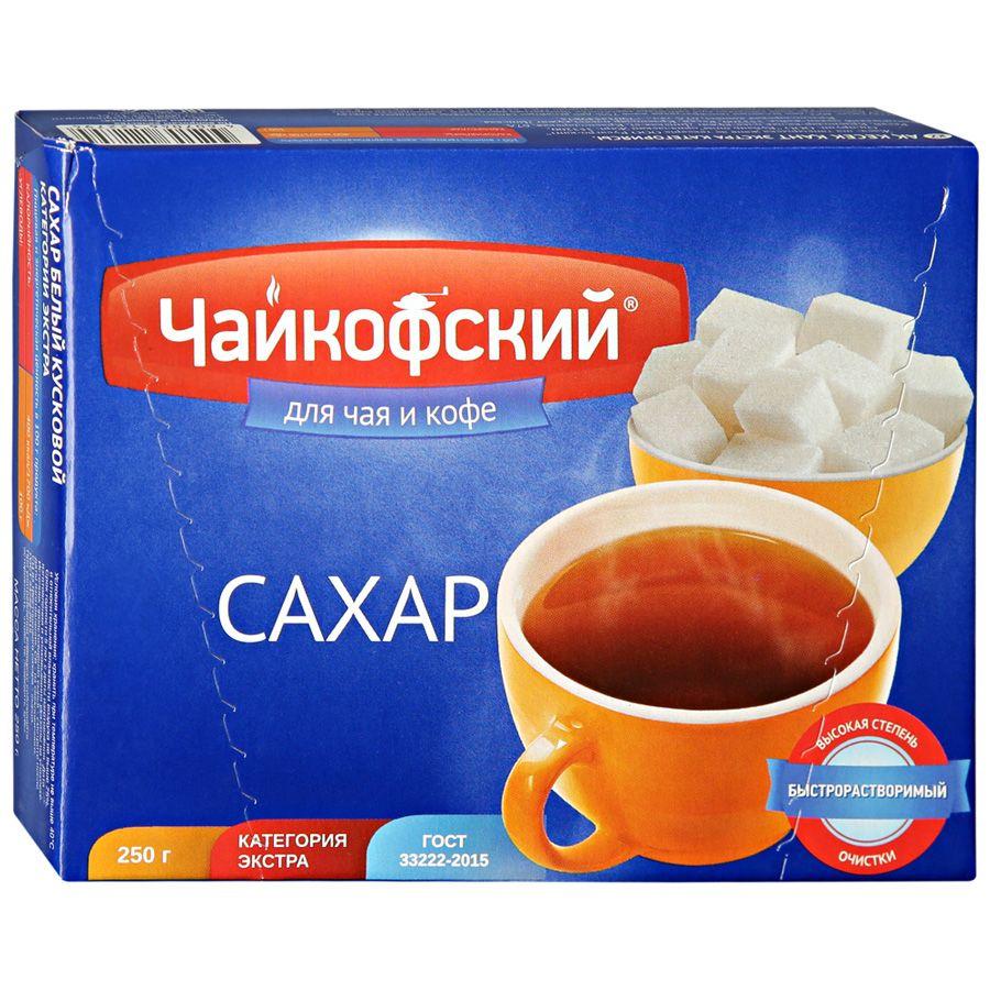 Сахар кусковой  Чайковский  0.25кг.