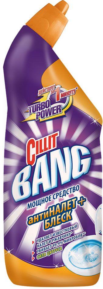 Средство  Cillit Bang  для туалета Антиналет+Блеск