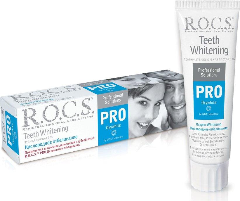 Зубная паста  R.O.C.S.  PRO Oxywhite Кислородное отбеливание 60гр.