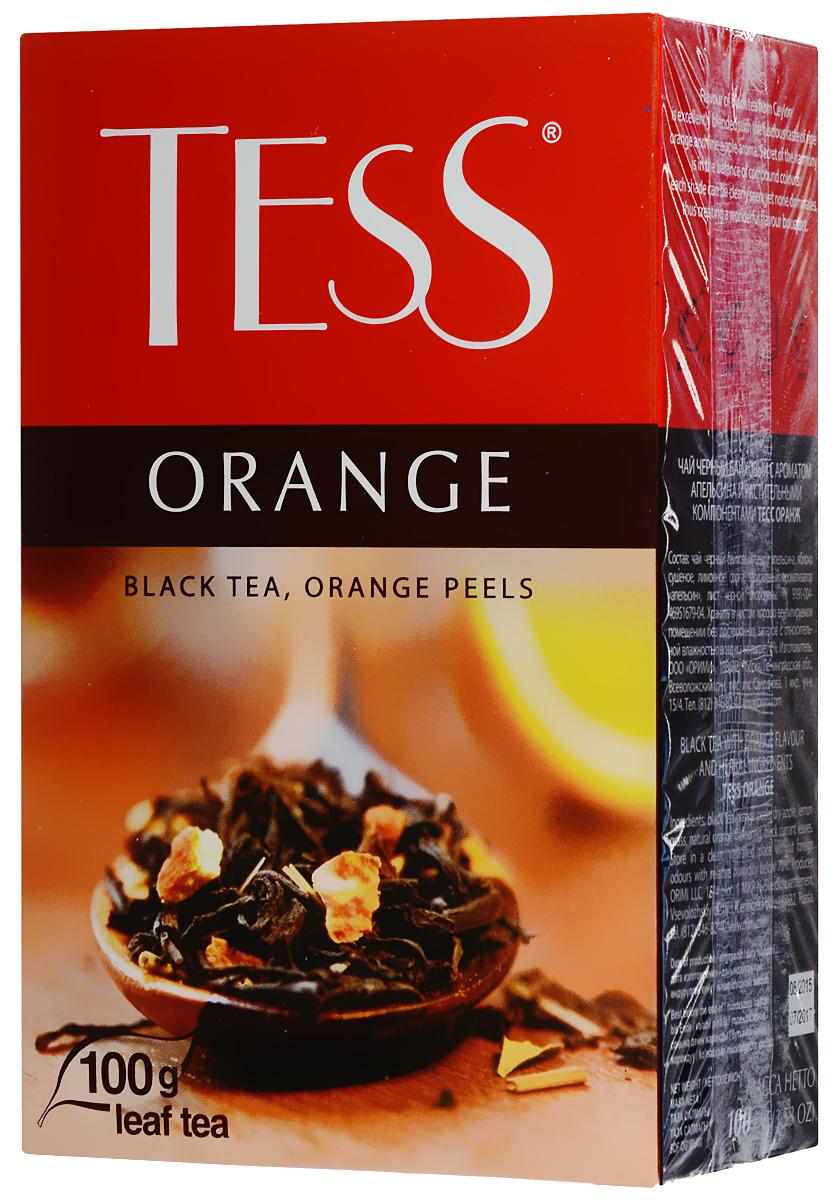 Чай черный  Тесс  Оранж 100гр.