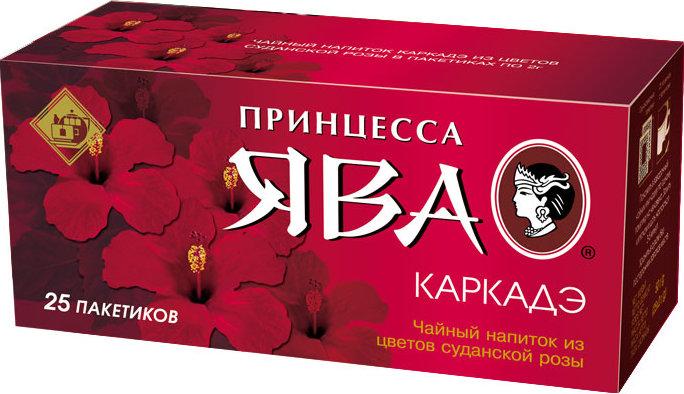 Чай  Принцесса Ява  каркаде 25*1.8гр.