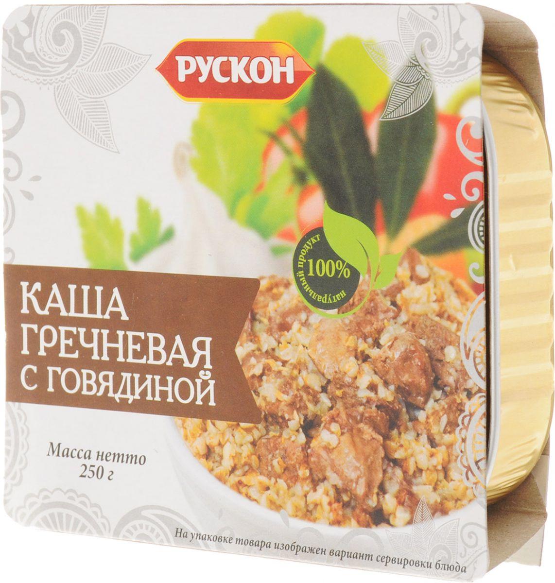 Консерва  Каша гречневая с говядиной  250гр.