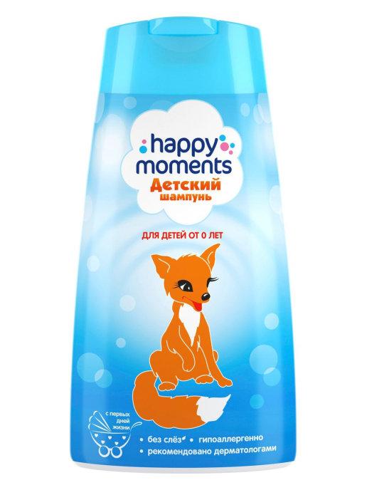 HAPPY MOMENTS детский шампунь для детей 240 мл