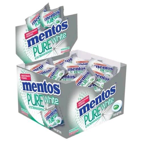 Жевательная резинка  Mentos Pure   нежная мята 2гр.