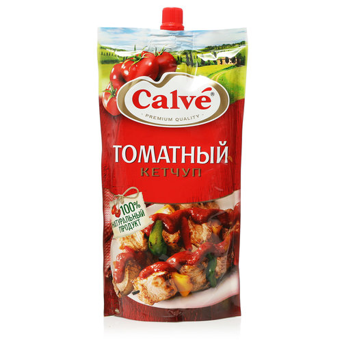 Кетчуп  Кальве томатный  350 гр