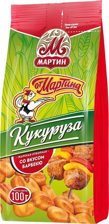 Кукуруза  От Мартина  жаренная со вкусом барбекю 100гр.