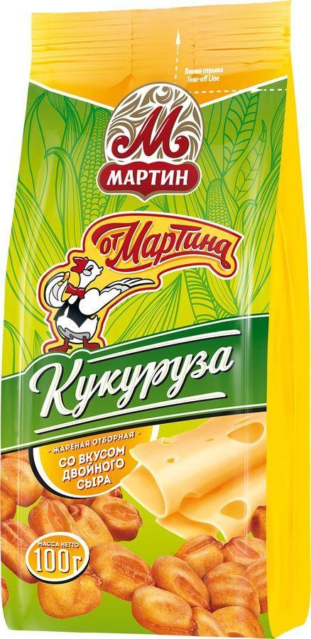 Кукуруза  от Мартина  жаренная отборная со вкусом сыра 100гр.