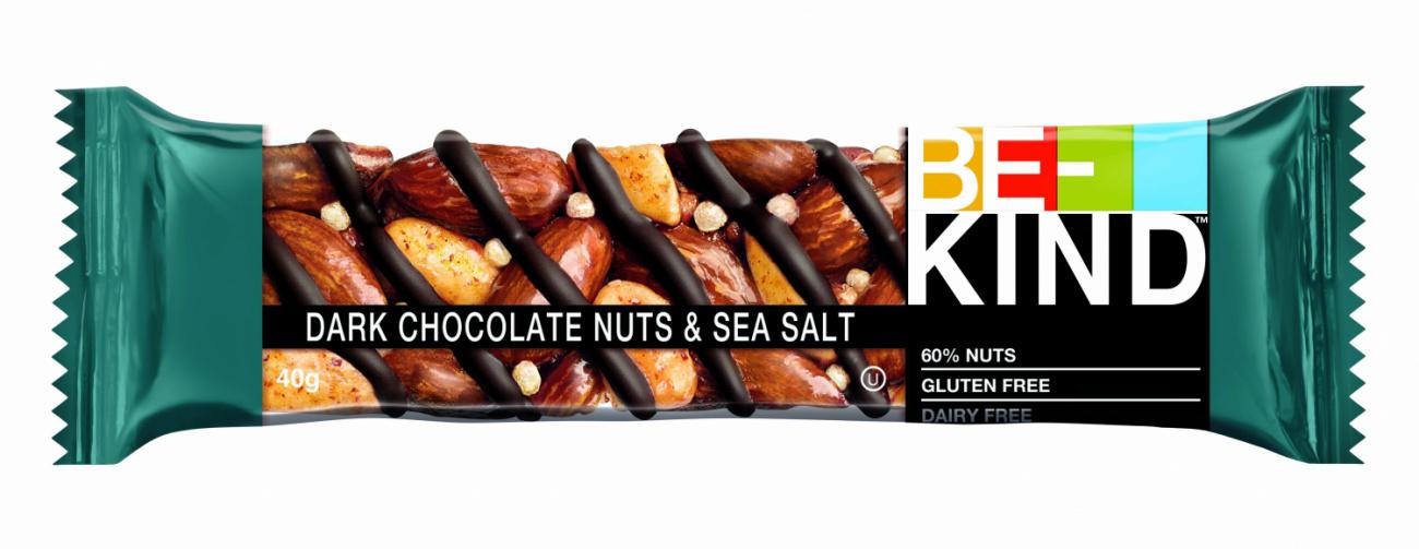 Батончик  BE-KIND  горький шоколад/соль 40гр.