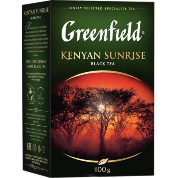 Чай Гринфилд кения санрайс 100 гр