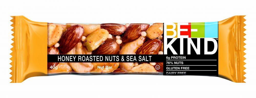 Батончик  Be-kind  орехи