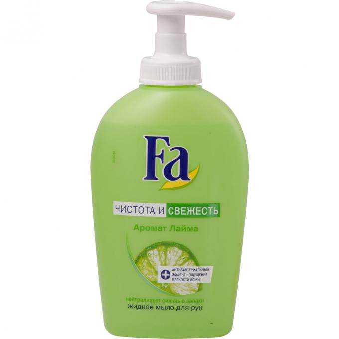 Жидкое мыло  Fa  свежесть и чистота