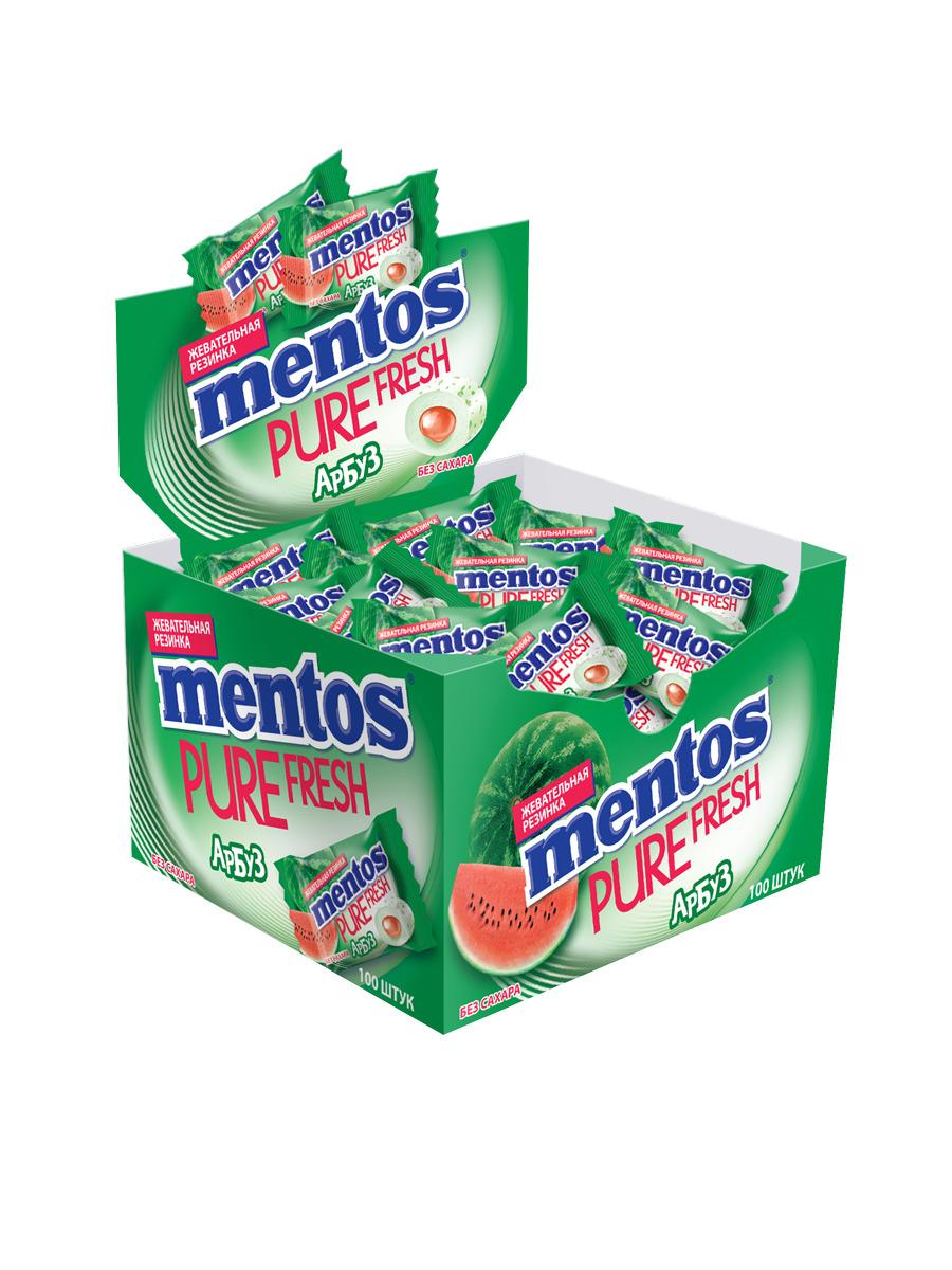 Жевательная резинка  Ментос  100*2гр.
