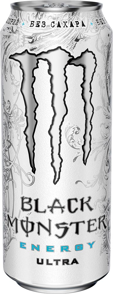 Энергетический напиток  Блэк Монстер  без сахара