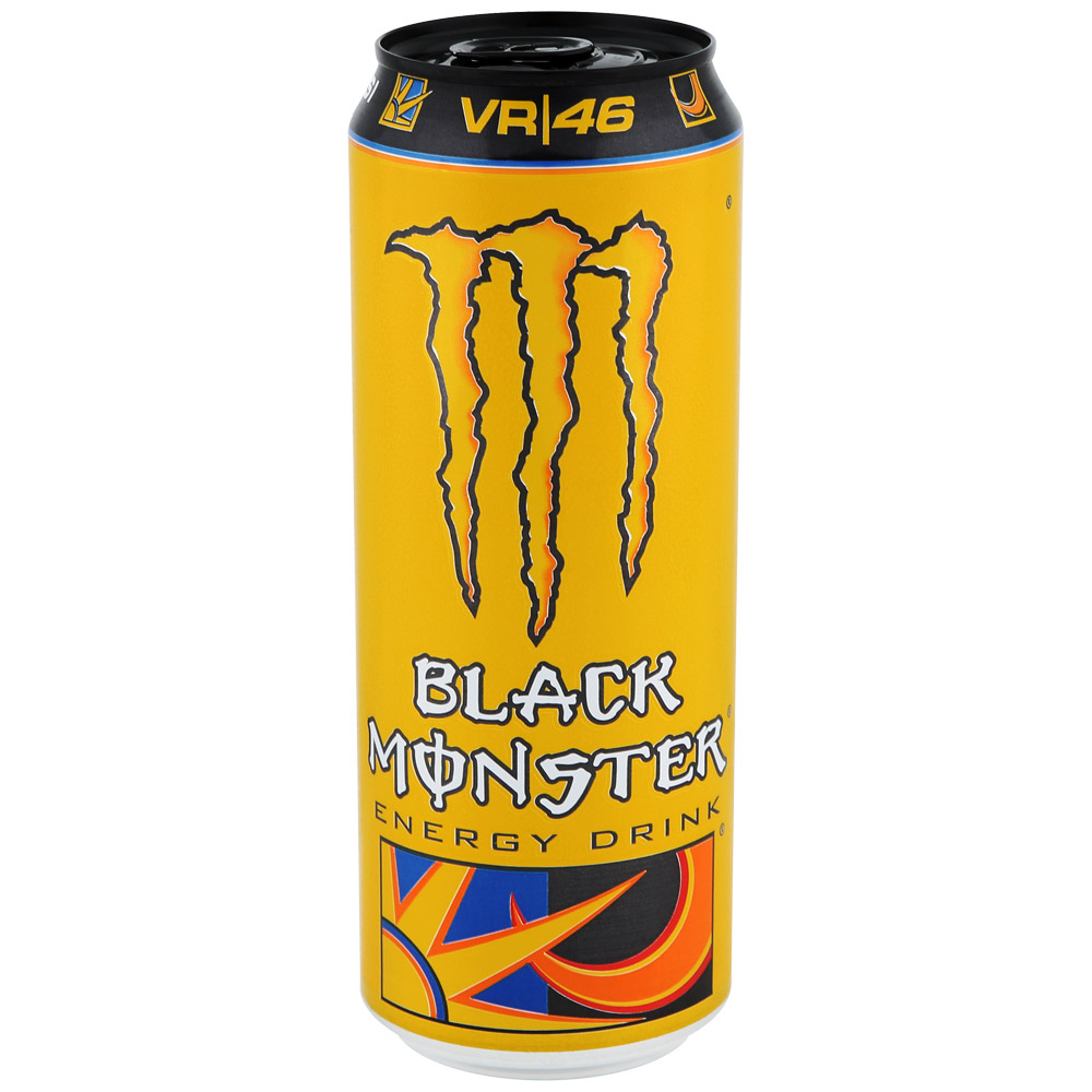 Энергетический напиток  Блэк монстер  doctor rossi ж/б 0.449л.