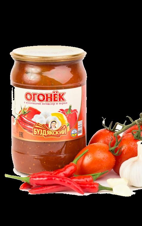 Соус  Огонёк  Буздякский 670гр.