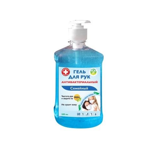 Гель антибактериальный для всей семья Флора 500мл.