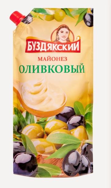 Майонез Оливковый 380гр Дой-пак